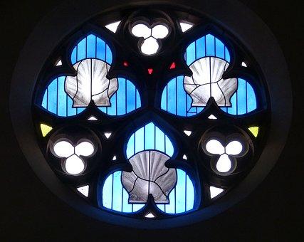 Scallop, Church Window, Make A Pilgrimage, Church