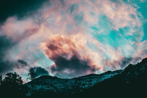 Sky, Clouds, Colors, Landscape, Clouds Sky, Sky Clouds