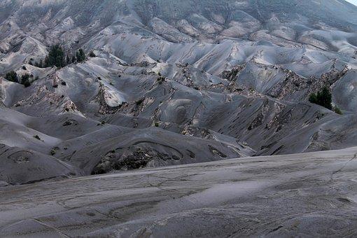 Bromo, Gunung, Sand, East Java, Java, Indonesia