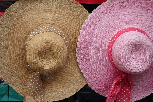Hat, Pink, Beige, Decoration, Panel, Headwear