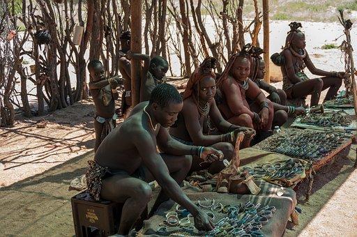 People, Africans, Blacks, Namibia, Himba