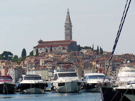 Croatia, Rovinj, Istria, Ships, Boats