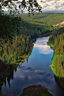 Usva, Mountain River, River, Height, Kinds, Journey