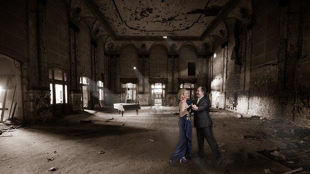 Lost Place, Ballroom, Human, Dance