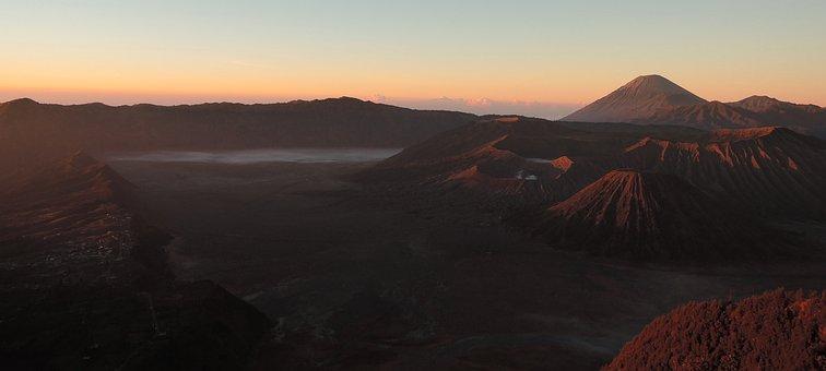 Bromo, Indonesia, Volcano, Java, Adventure, Nature