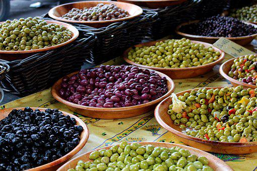France, Olives, South Of France, Mediterranean, Food