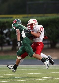 American Football, Tackle, Competition, Players, Helmet