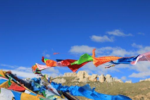Tibet, Prayer Flags, Faith