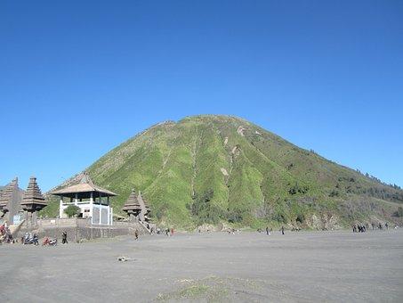 Mount, Shell, Bromo, Pura