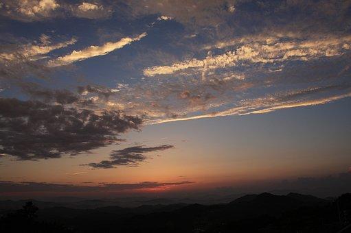 Sky, Nature, Landscape, Cloud, Fleece Clouds, Scenery