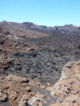 Lava, Volcano, Lava Flow, Galapagos, Volcanism, Slag