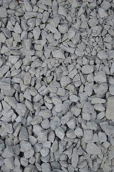 Gravel, Texture, Rocks, Gray, Grey, Aggregate, Chips