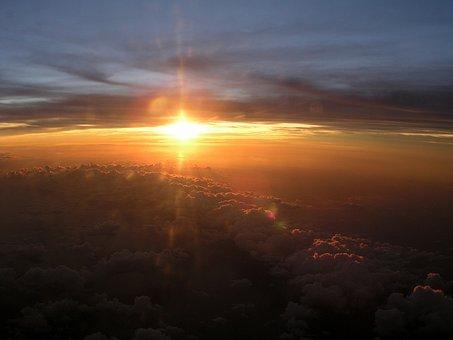 Sunset, Sundown, Sky, Evening, Travel, Clouds, Horizon