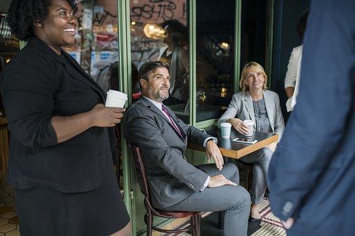 American, Black, Break, Business, Business People