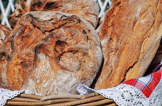 Bread, Bread Crust, Crispy, Bio, Natural Product
