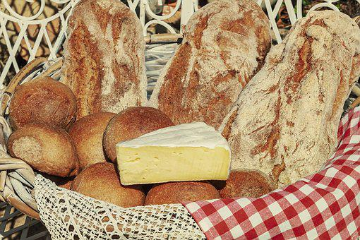 Breadbasket, Soft Cheese, Creamy, Bread, Roll, Crispy