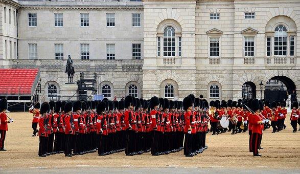 London, Guards, Guard, England, Buckingham, English
