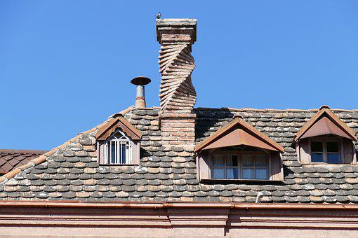 Georgia, Tbilisi, Capital, Roof, Brick, Chimney