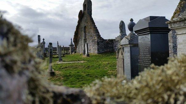Scotland, Cemetery, Ruin, Church, Durness