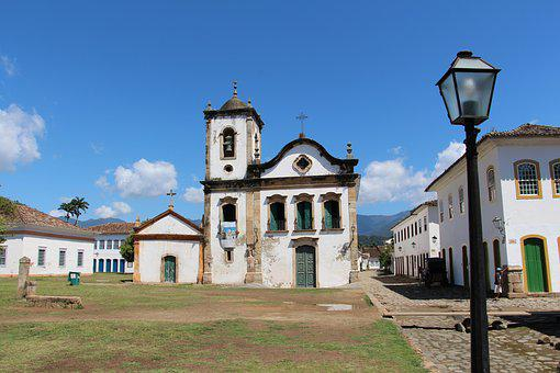 Paraty, Church Of Santa Rita, The Colonial City
