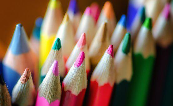 Pencils, Coloring, Colorful, Art, Color, Creative