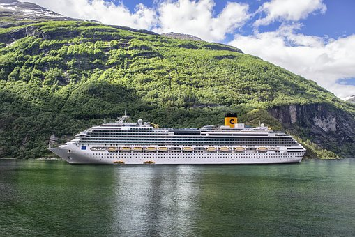 Cruise, Fjords, Norway, Landscape, Sea, Mountain