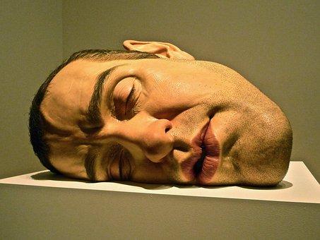 Art, Face, Sculpture, Male, Artwork, Mysterious, Head