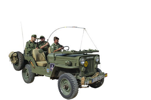 Jeep, War, Military, Army, Vehicle, Normandy, Soldier