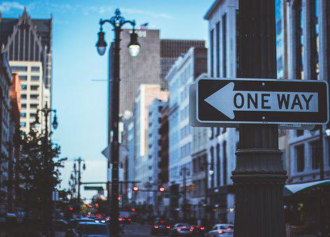Detroit, Street Sign, Motor City, Street, Blur