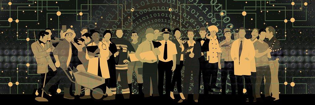 Web, Network, Personal, Profession, Group, Digitization