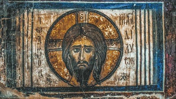 Holy Handkerchief, Jesus Christ, Icon, Painting