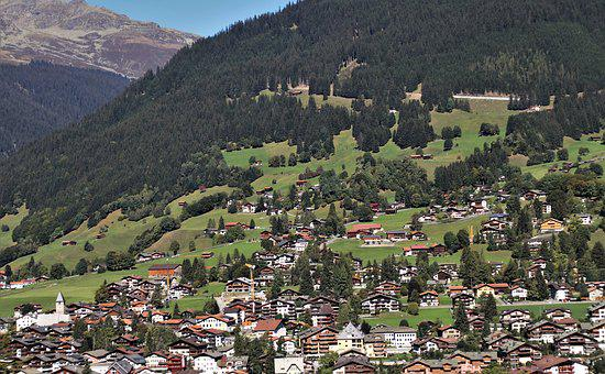 Far View, Mountains, Panorama, Tops, Liechtenstein