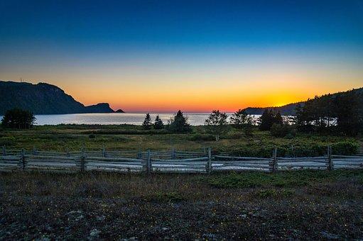 Mystery, Parc National Du Bic, Sunset, Twilight, Québec