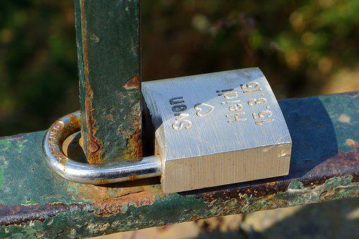 Padlock, Couple, Love, Promise, Bridge, Valentine, Lock