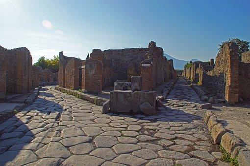 Pompeii, Italy, Antique, Roman, Archaeology, Ruin