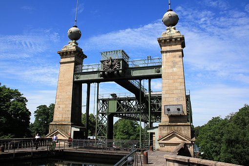Industrial Heritage, Ship Lift Henrichenburg, Ruhr Area