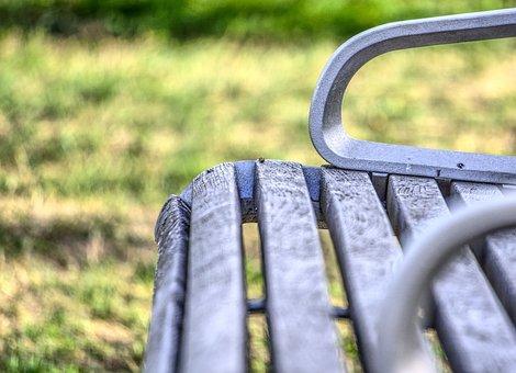 Bank, Park, Seat, Rest, Sit, Nature, Landscape