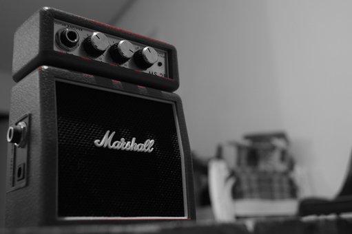 Music, Sound Box, Audio, Volume, Button, Retro, Hear