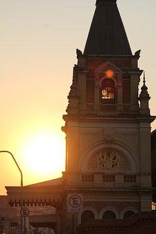 São Paulo, Luz, Sunshine, Train Station, Station