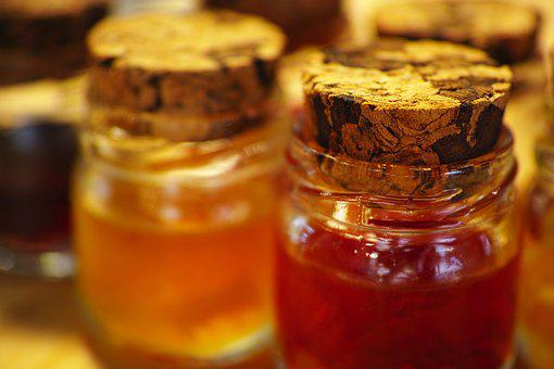 Jam, Bottle, Tiny, Cute, Sweet, Season, Natural