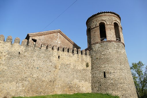 Georgia, Telavi, Kakheti, Castle, Fortress, Tower