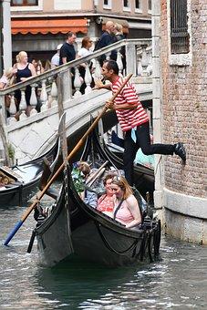 Gondola, Travel, Venice, Europe