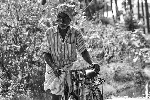 Commonman, Villagepeople, Seniorcitizen, Cycle