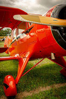 Vintage, Aviation, Aircraft, Classic, Propeller, Plane