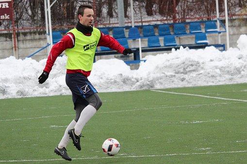 Football, Match, Training Match, Footballer, A Man