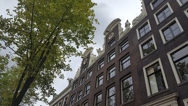 Historical, Amsterdam, Facade, City, Herengracht