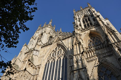 York, Cathedral, Architecture, Church, Landmark, Gothic