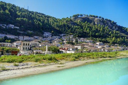 Berat, Albania, History, Europe, Mangalem, Old, City