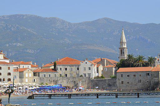 Montenegro, Budva, Sea, The Adriatic Sea