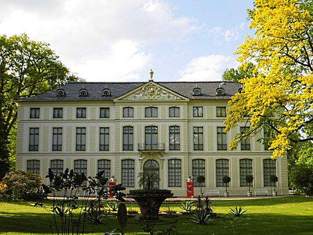 Greiz, Park, Castle, Thuringia Germany